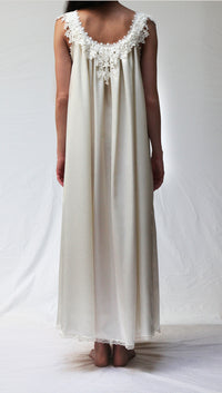 34013 Satin Long Gown