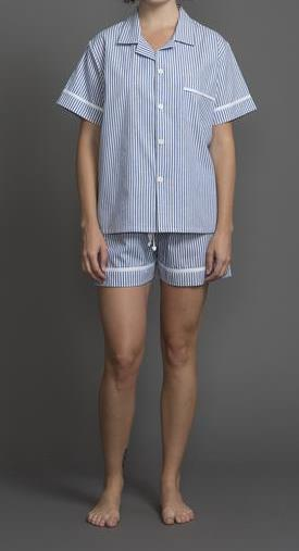 39211 Cotton Stripes Short PJ Set