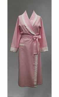 39521 Seersucker  Long Robe- All sizes available
