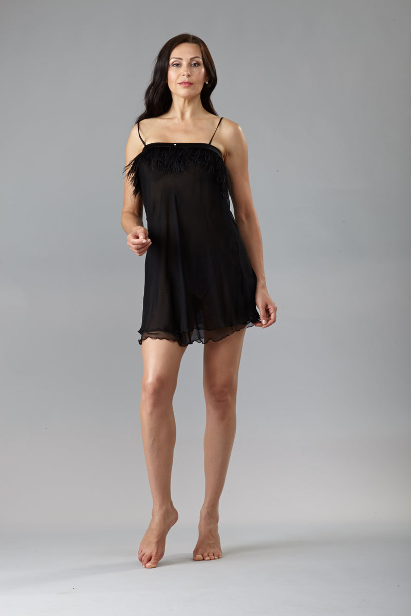 207, Short chiffon nightgown