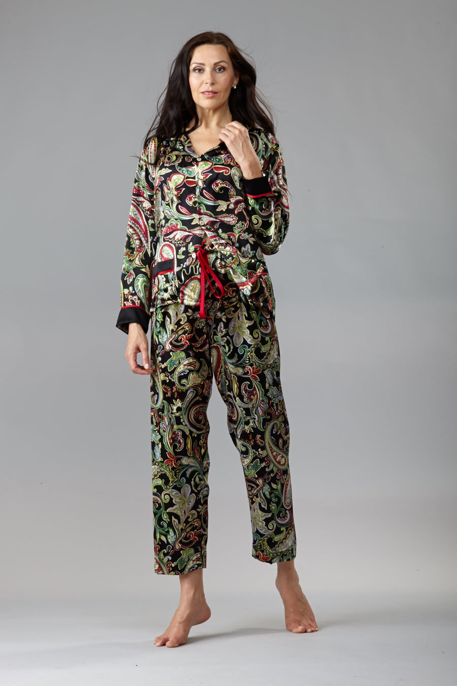 40307 Silk Pyjama (Paisley sold-out)