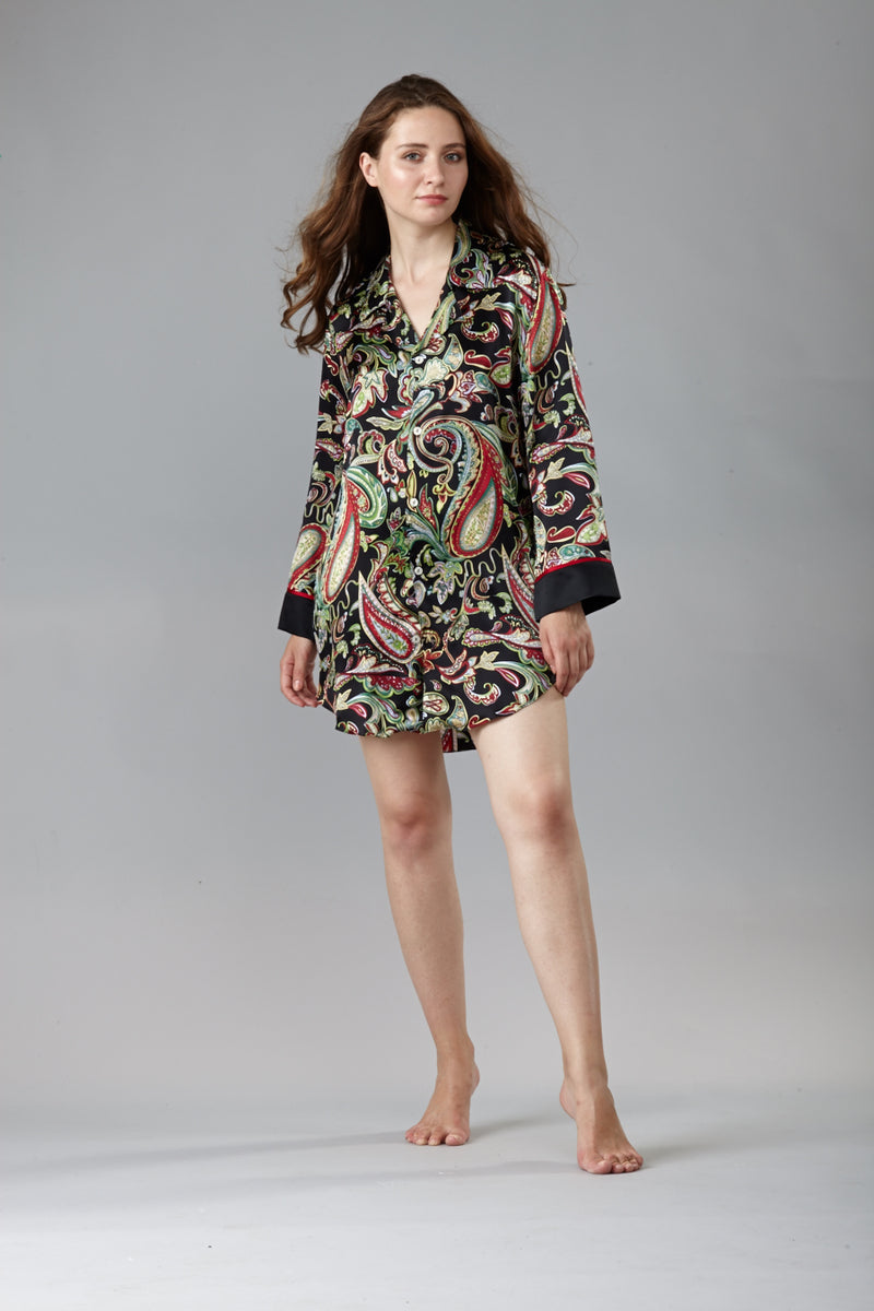 40304 Silk Nightshirt  - Final sale- No returns