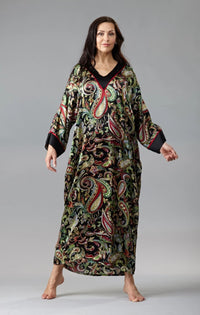 40305 Silk caftan - Final sale- No returns