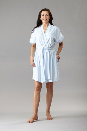 40340 - Short sleeves robe in terry