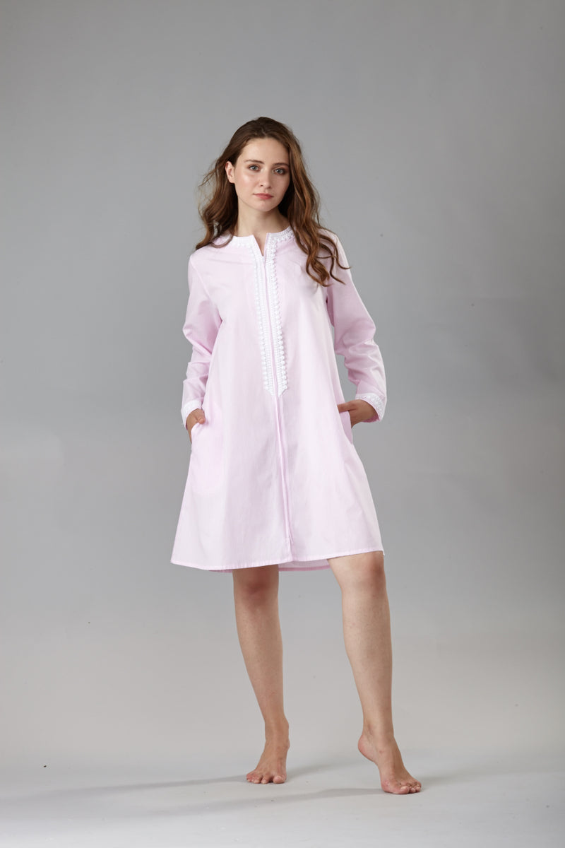 70039 Short zipped caftan