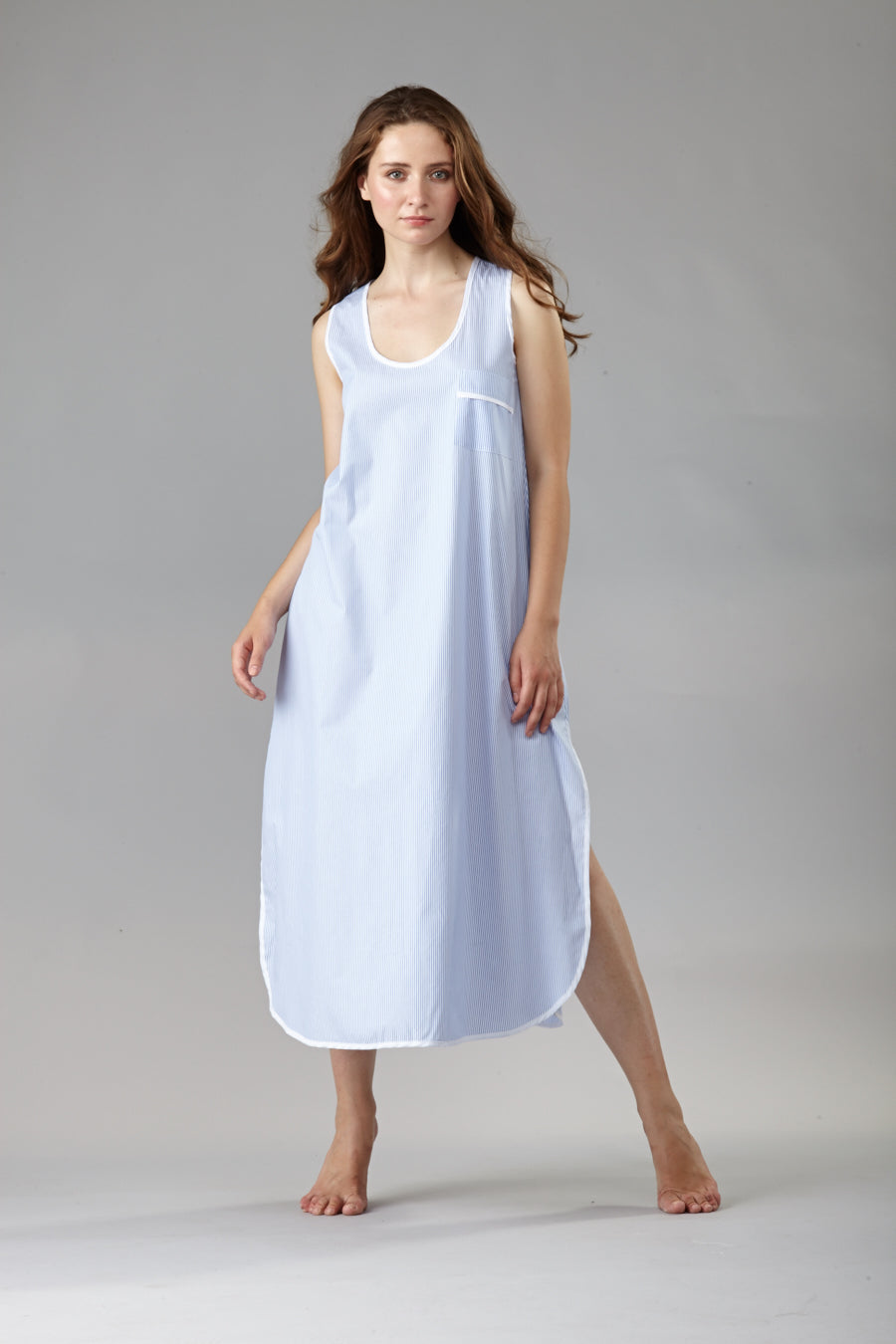 70036 Long Tank gown