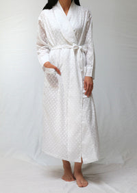 39349 Robe with shawl collar