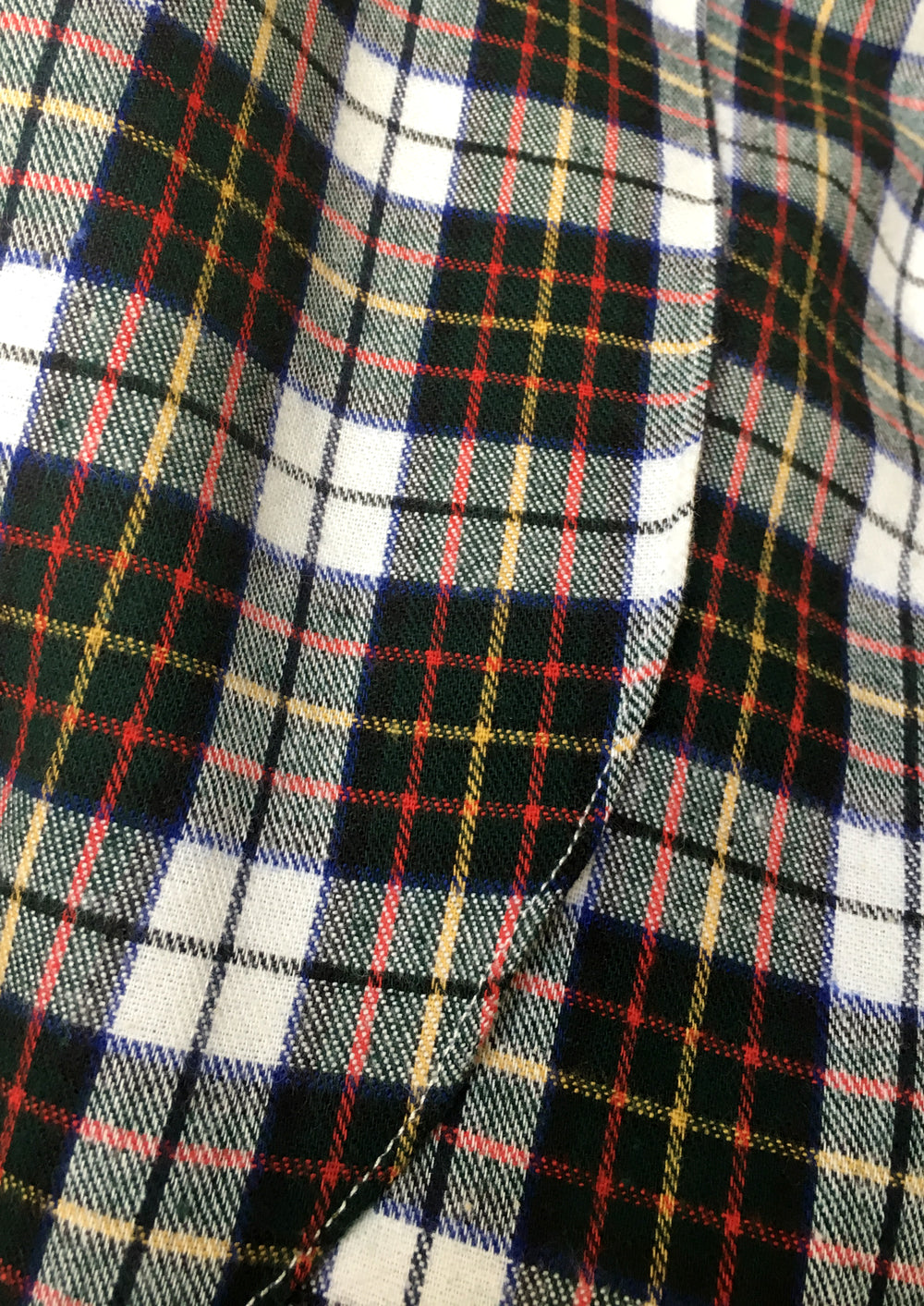 Plaid Flannel Alise Poet Shirt