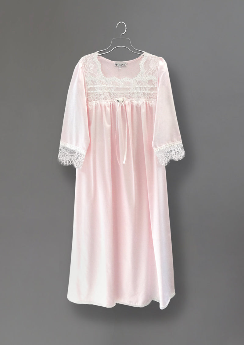 Cozy Satin Four Poster Gown