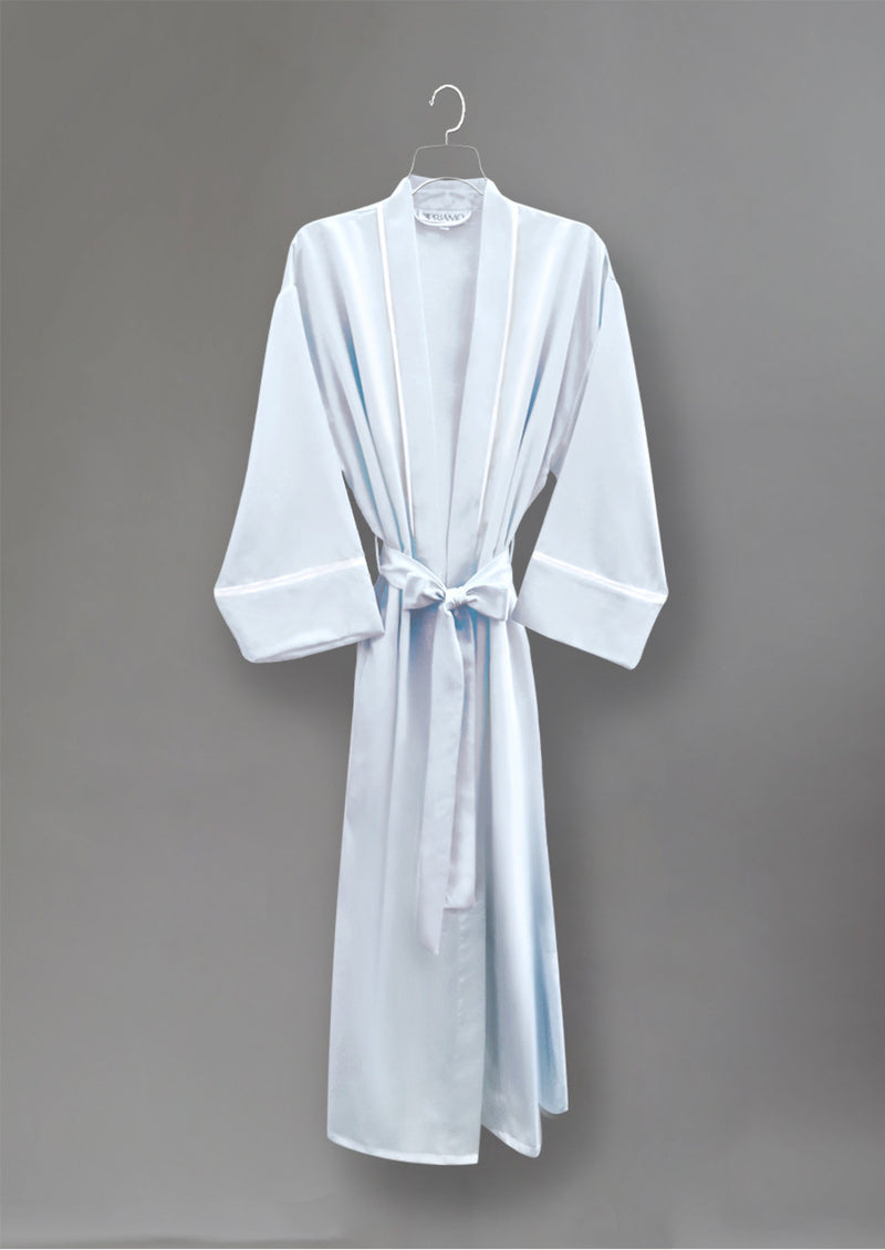 39674 Cozy Satin Long Robe