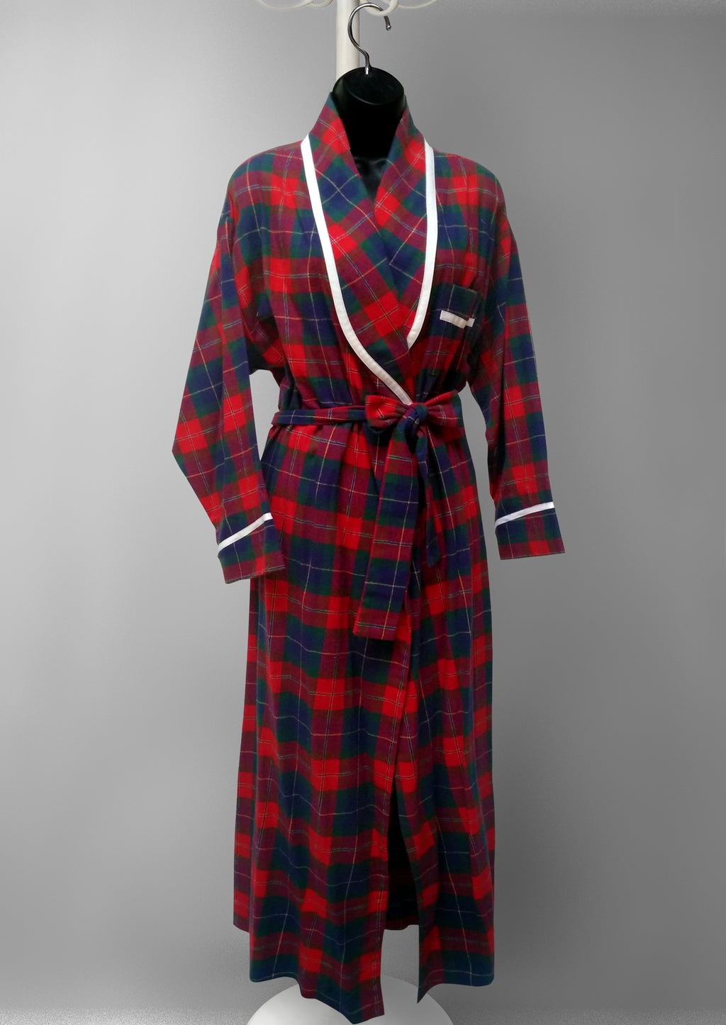 39901 Flannel printed Robe-final sale-no returns