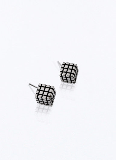80´s Box Earrings