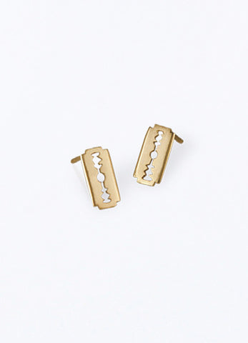 Gillette Gold Earrings