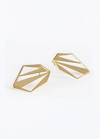 Golden Explosion Earrings