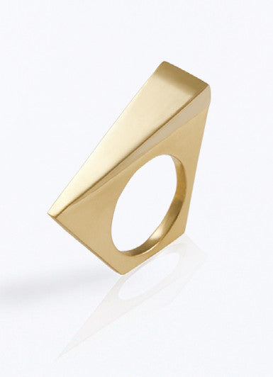 Golden Wedge Ring