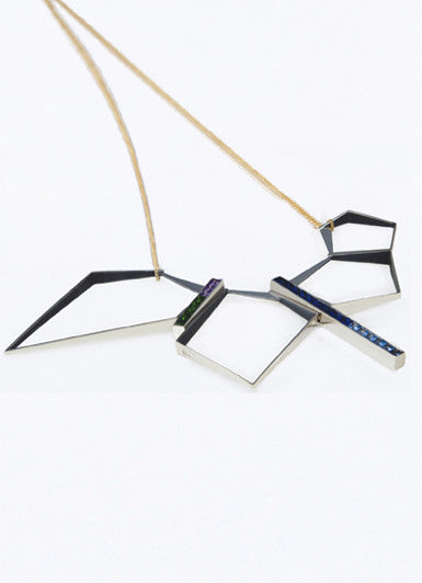 Hexagonal Antwerp Necklace