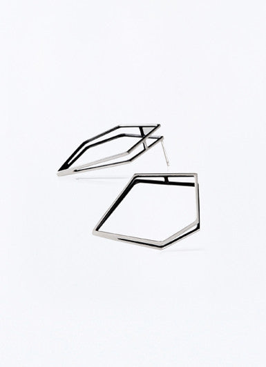 Hexagonal Earrings
