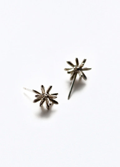 Pom Pom Simple Earrings