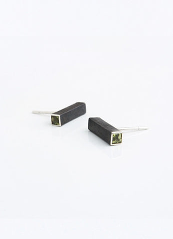 Black City Short Earrings