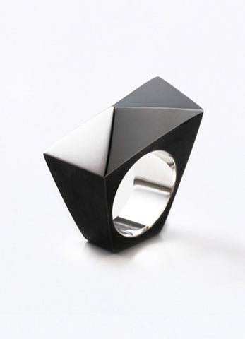 Solid Triangles Ring