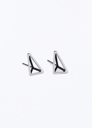 Single Triangles Earrings