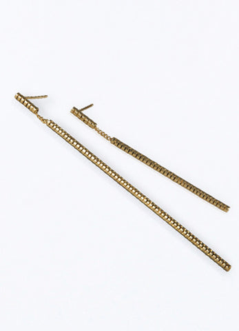 Urban Sequence Gold Earrings