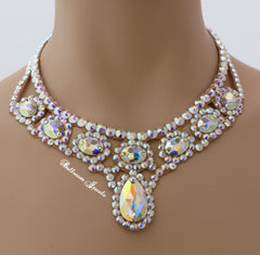 Ballroom Swarovski Crystal necklaces jewelry