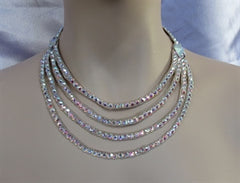 Swarovski Strands Ballroom Necklace - Swarovski Necklace - Ballroom Jewels