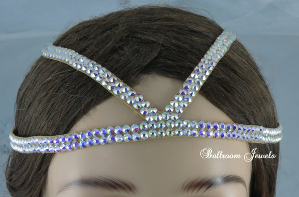 Ballroom Headband with two additional lines