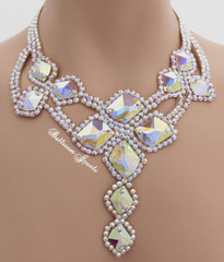 Ballroom Galatic Crystal Necklace
