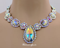 Ballroom Royal Design Crystal necklace