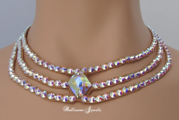 Ballroom Galatic Swarovski Necklace