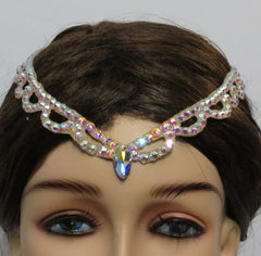 Swarovski fancy  hair line - Hair Accessories - Ballroom Jewels