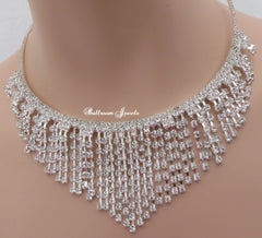 Crystal Strand Necklace
