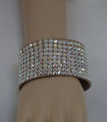 Ballroom Bangle Bracelet 2 inches wide - Swarovski Bracelet - Ballroom Jewels - 1