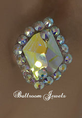 Crystal Galatic Ballroom earrings