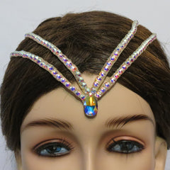 Swarovski dual hair line - Hair Accessories - Ballroom Jewels