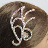 Swarovski Crystal Graphic Ballroom Hair Ornament - Hair Accessories - Ballroom Jewels - 3