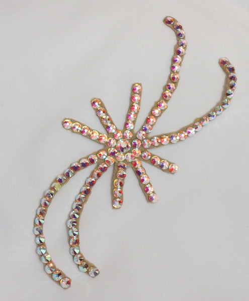 Starburst Swarovski Ballroom Hair Ornament