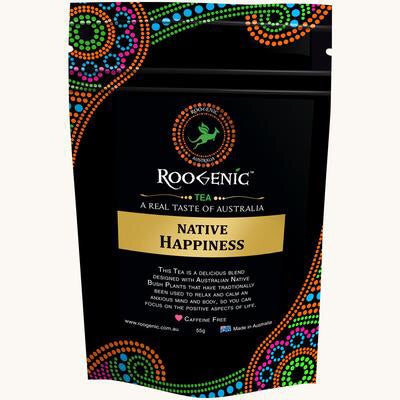 Roogenic Native Happiness Herbal Tea