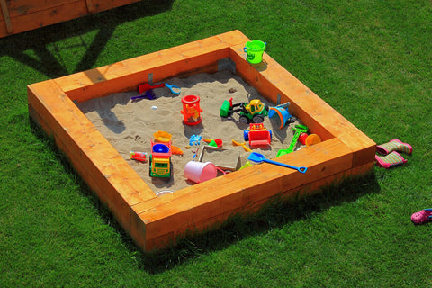 wade building supplies | timber sleepers build sandpit