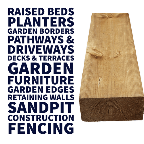 wade building supplies   uses for garden sleepers
