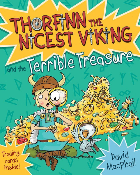 Thorfinn the Nicest Viking & the Terrible Treasure (Book 6 in the Series)