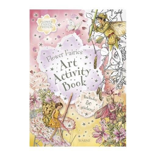 Flower Fairies Art Activity Book