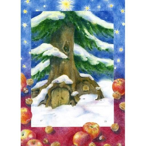 Christmas by the Tree Mini Advent Calendar