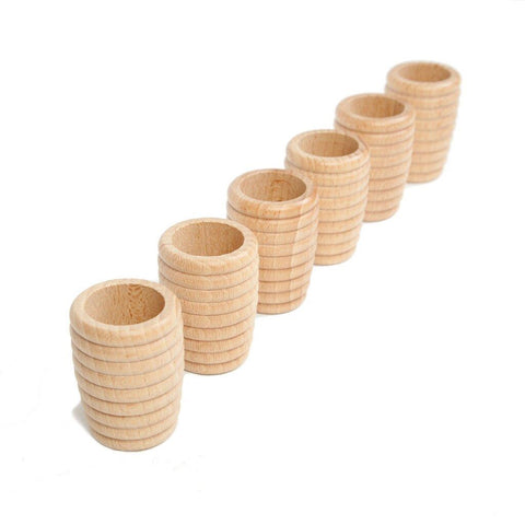 Grapat Wood Natural Honeycomb Beakers