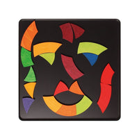 Goethe's colour circle magnetic puzzle