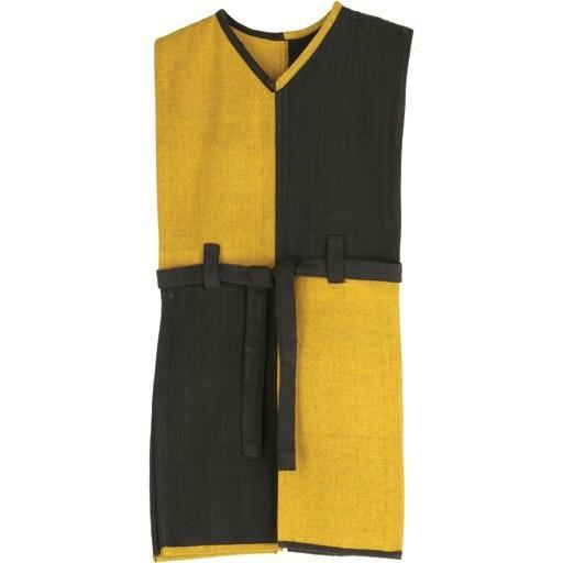 yellow-black tunic