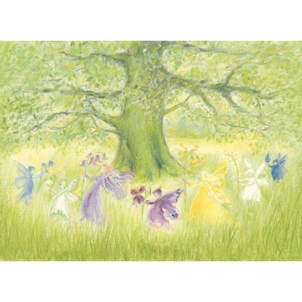 dance of the elves postcard