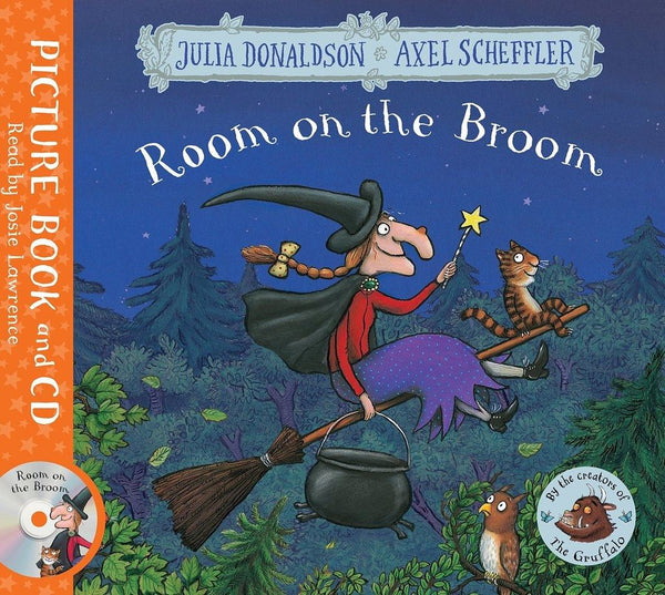 Room on the Broom book + CD